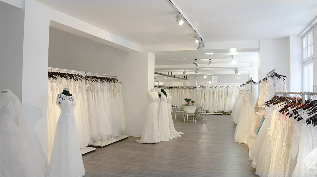 Traumkleider auf mehr als 550 qm - auch Dein Kleid!